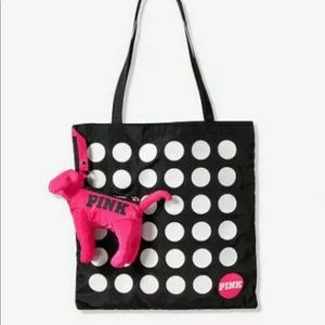 New Victoria's Secret PINK Mini Dog And Packable